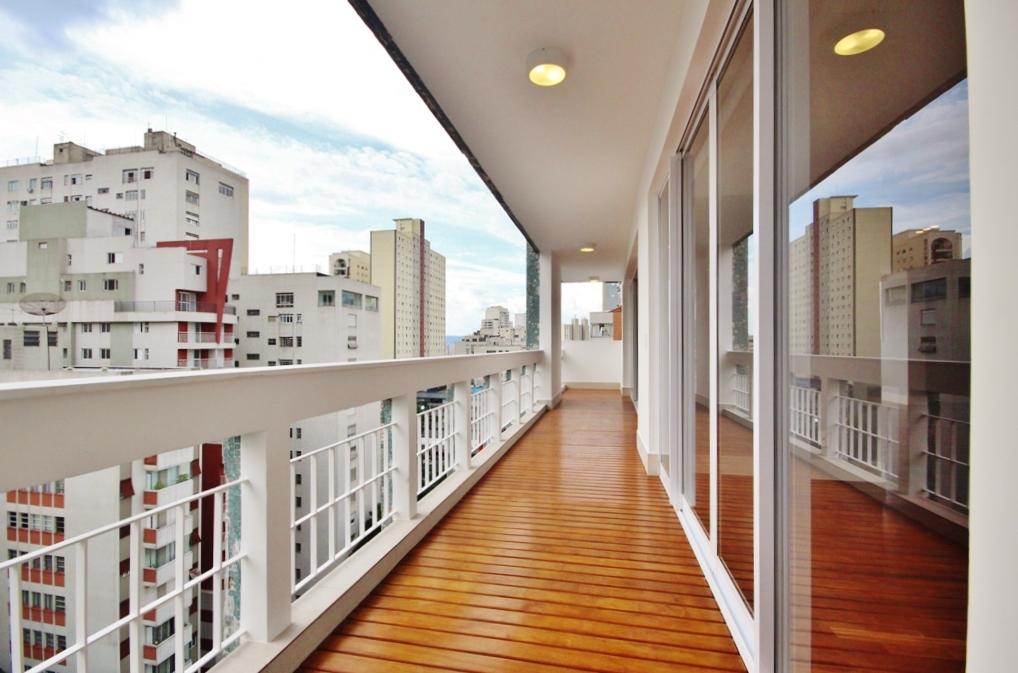Cobertura Higienópolis 4 dormitorios 5 banheiros 2 vagas na garagem
