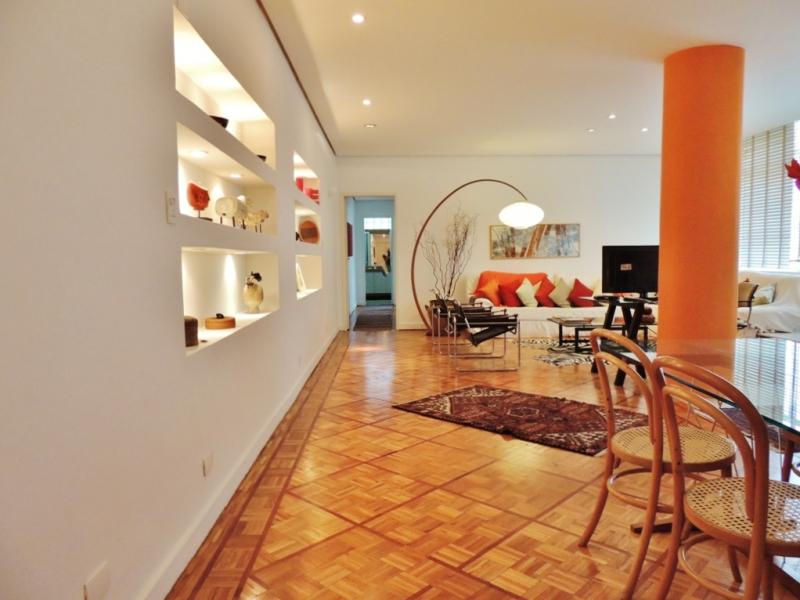 Apartamento, JARDINS, 2 dormitorios, 3 banheiros, 1 vagas na garagem