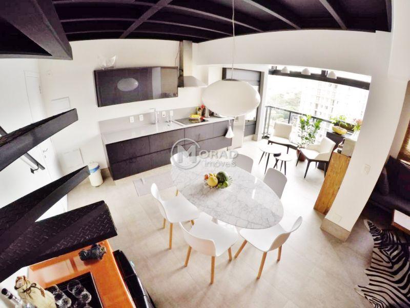 Duplex VILA OLIMPIA 1 dormitorios 2 banheiros 1 vagas na garagem