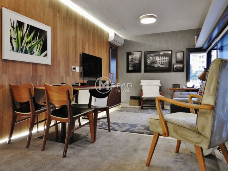 Apartamento, JARDINS, 1 dormitorios,  banheiros, 1 vagas na garagem