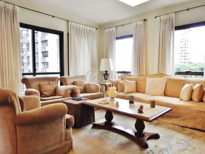 Apartamento, Jardim Paulista, 4 dormitorios, 4 banheiros, 3 vagas na garagem