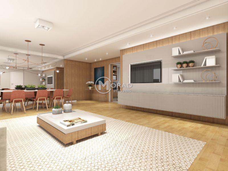 Apartamento, JARDINS, 3 dormitorios,  banheiros, 1 vagas na garagem