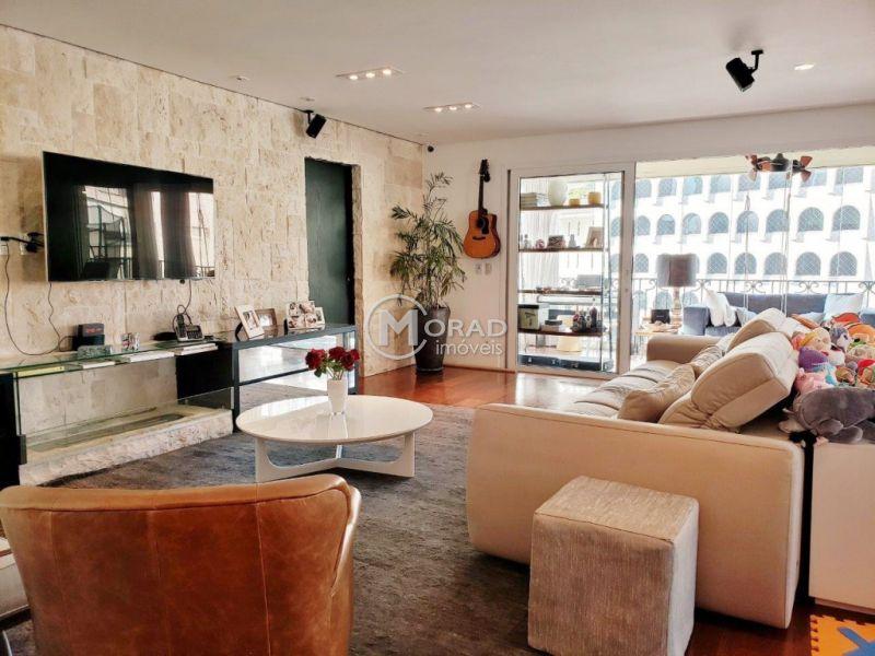Apartamento Jardim Paulistano 4 dormitorios 6 banheiros 3 vagas na garagem